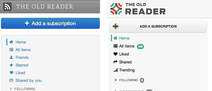 theoldreader Top 5 Alternativen für den Google Reader