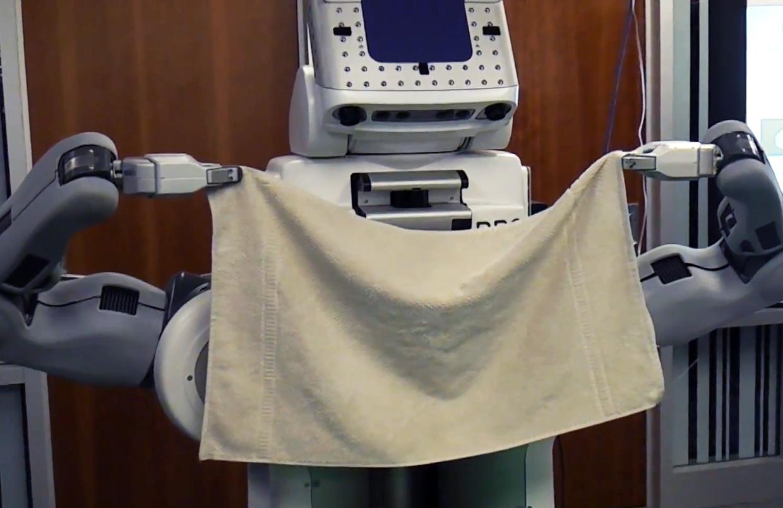 Knotenbinden und Wäschefalten – Wie Intel & die UC Berkeley Roboter zu Helfern machen (Video)