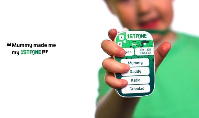 1stfone 02 1stFone   Mobiltelefon für Kinder ab vier Jahren