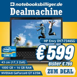 250x250 HP dv7 7346sg v4 Deals of the Day   Kindle Fire HD, TP Link Netzwerkadapter, HP Notebook