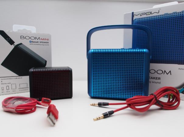 Boom Paket 605x452 Im Test: BOOMAX und BOOMIN von MiPow
