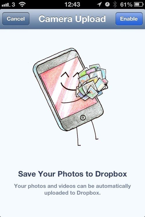 Dropbox photo upload Smartphone Dieb vergisst Bilder Upload Funktion   Das Internet vergisst ihn nicht
