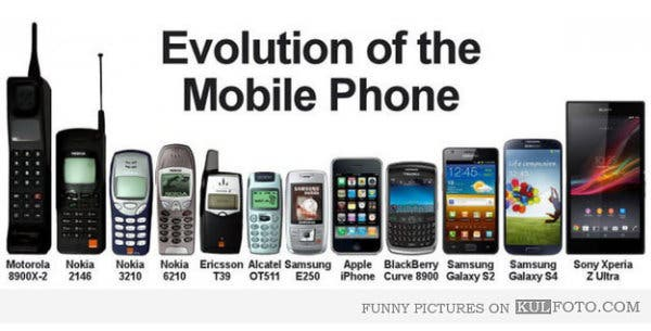 Handset Evolution 30 Jahre Mobile Devices in der Uebersicht [Infografik]