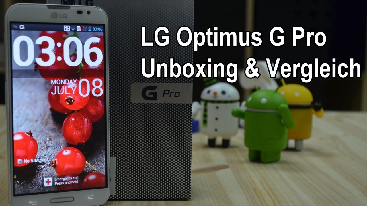 LG Optimus Pro Phablet – Ausfuehrliches Unboxing und Vergleich! [Video]