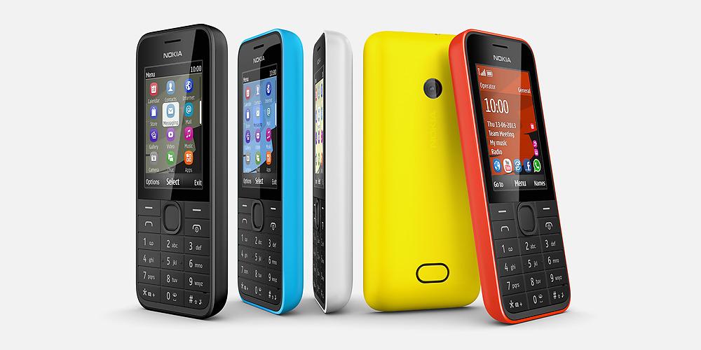 Nokia 207 und 208 – Billige Internet-Handys mit HSPA-Unterstützung