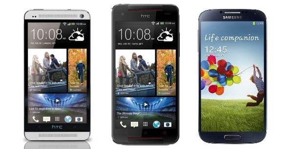 HTC Butterfly S im Benchmark-Vergleich mit HTC One und Galaxy S4 Octa
