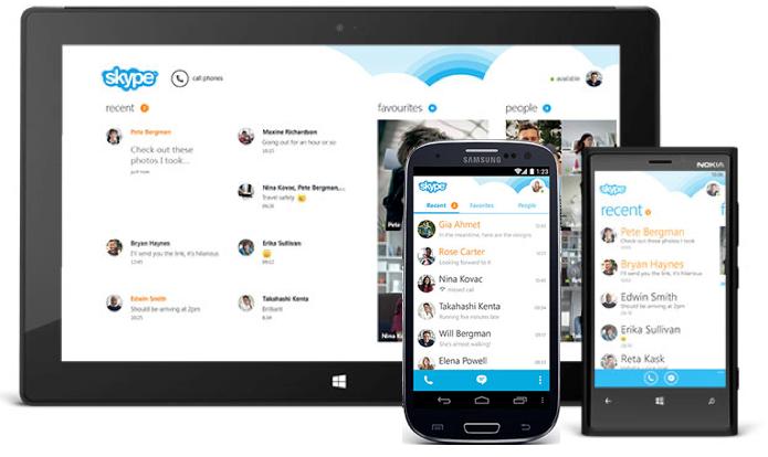 Skype für Android in komplett neuem Gewand und mit 100 Millionen Downloads