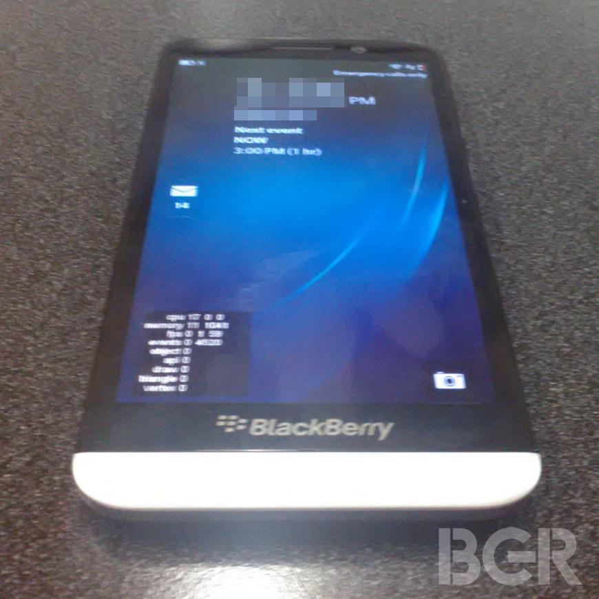 BlackBerry A10: Video, Foto und Specs zum 5-inch Smartphone aufgetaucht