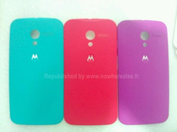 Moto X: Erste Fotos der farbigen Rückseiten aufgetaucht