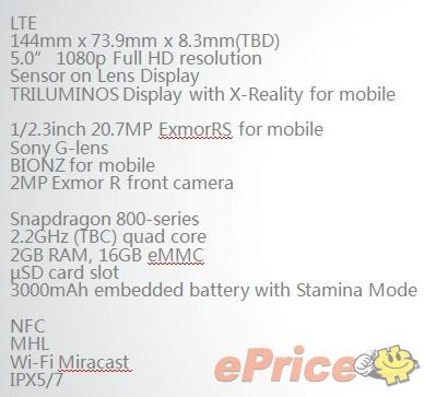 honami01 Sony Xperia i1 Honami: Alle relevanten Spezifikationen geleakt