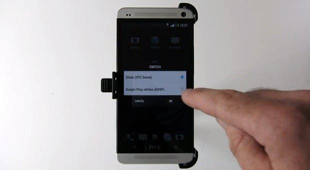 MoDaCo.Switch fuer HTC One – Zwischen Stock Android und Sense switchen! Update: Public Beta