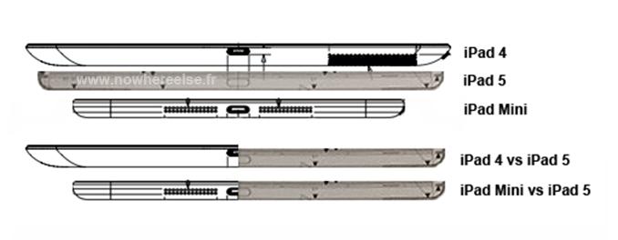 Apple iPad 5: Zeichnungen verraten die Maße