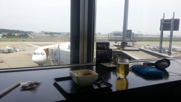 20130714 135327 605x340 Mobile Geeks on Tour   ANA Lounge in Narita, Tokio!