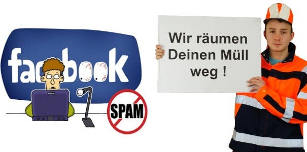 Facebook entmuellt News Feed – Neue Filterblase anstatt SPAM-Bekaempfung!