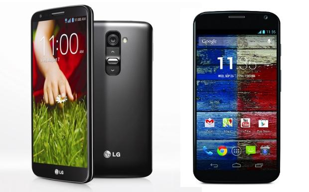 LG G2 und Motorola Moto X – Weniger ist mehr!