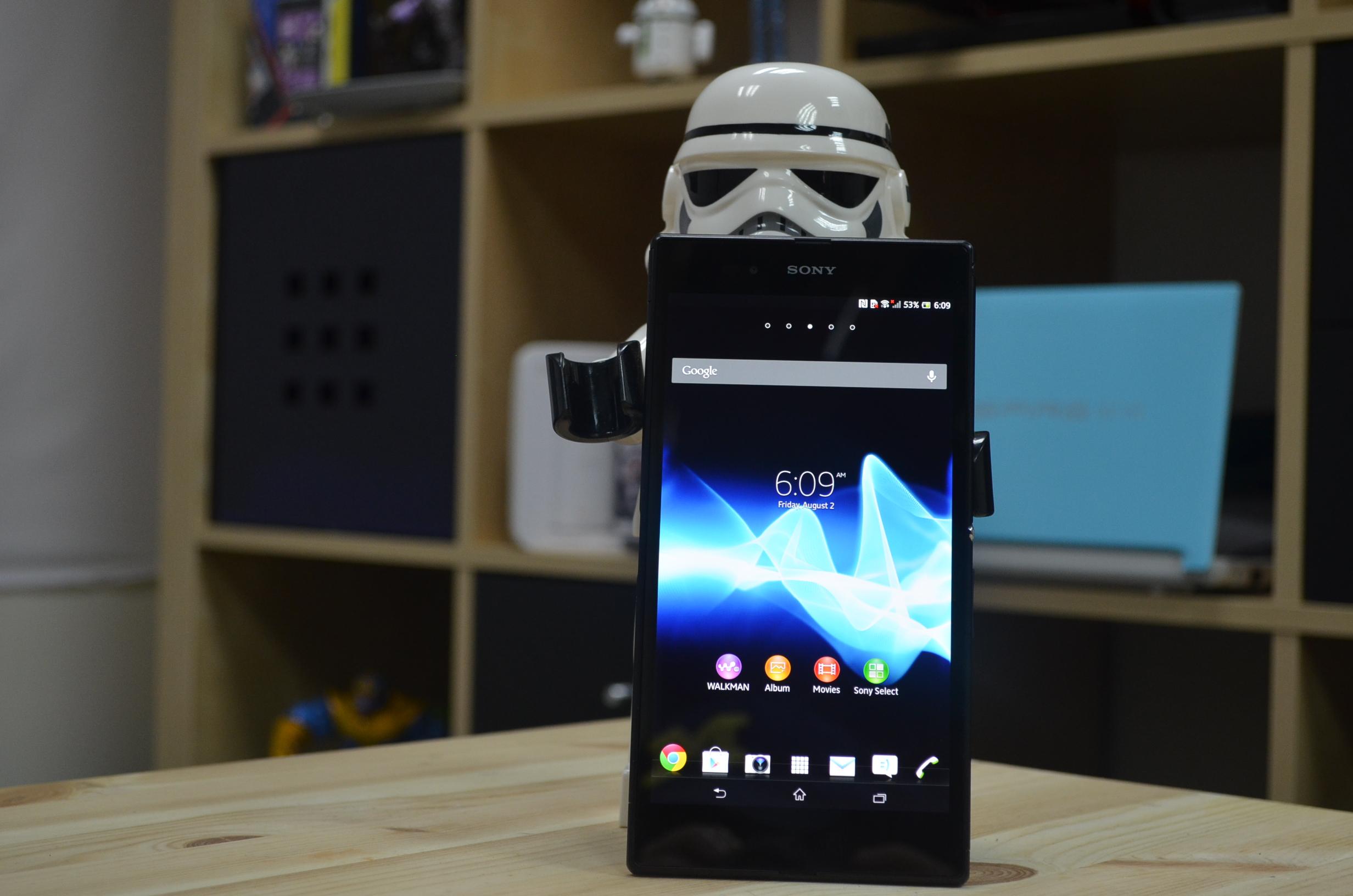 Sony Xperia Z Ultra im ausfuehrlichen Unboxing, Hands On und Vergleich [Video]