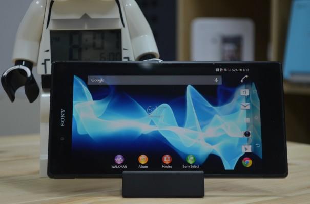 Sony Xperia Z Ultra 3 605x400 Sony Xperia Z Ultra im ausfuehrlichen Unboxing, Hands On und Vergleich [Video]