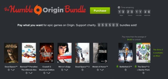humble bundle origin