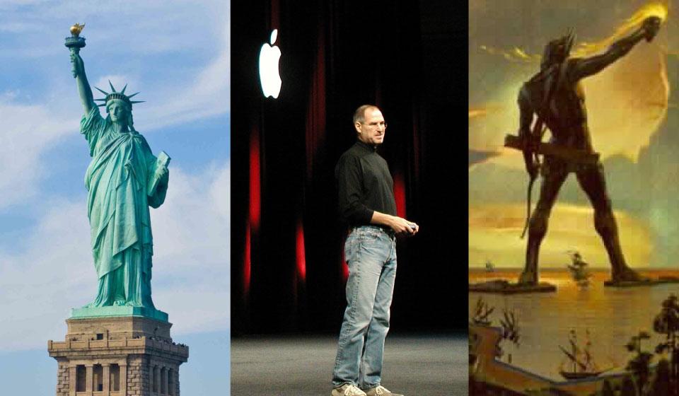 So groß wie die Freiheitsstatue: Bekommen die USA eine Steve Jobs-Statue?