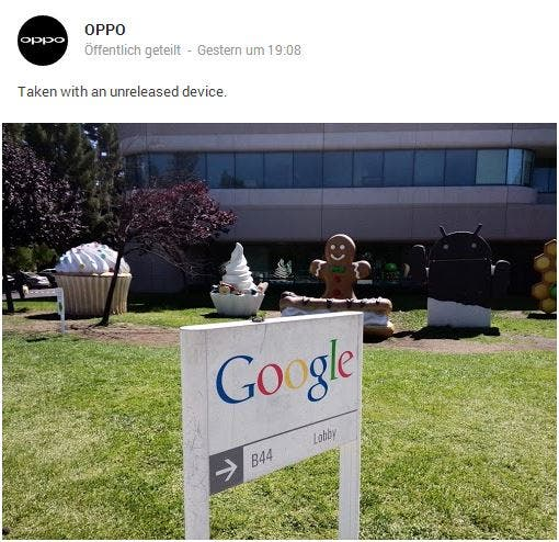 oppo google plus News: Ubuntu Edge mit Weltrekord, Meizu MX3, Oppo bei Google, Alcatel One Touch Scribe Pro