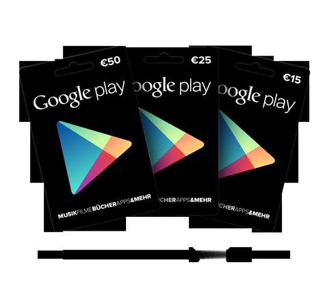 Google Play Prepaid-Karten diese Woche bei Saturn und Media Markt