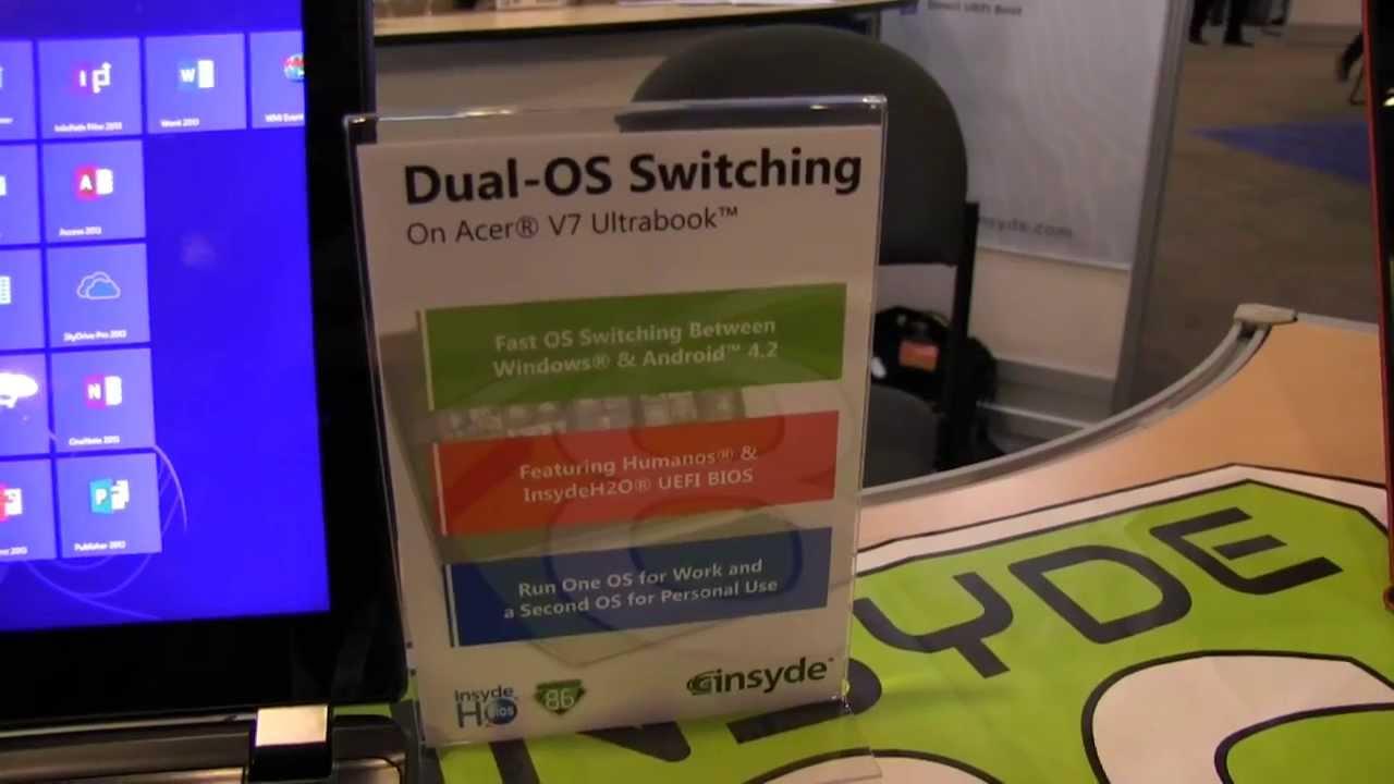 IDF: Von Android zu Windows 8 und zurück in 4 Sekunden