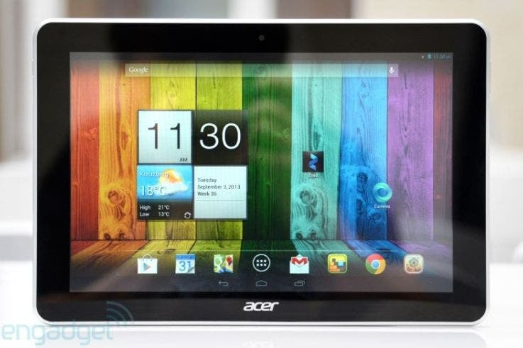 IFA: Acer Iconia A3 im Hands-on *Update: deutsches Video*