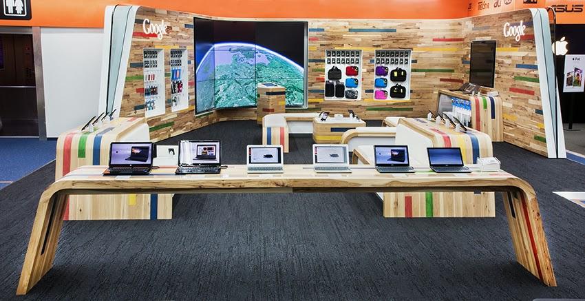 Erster Google Shop-in-Shop in Hamburg