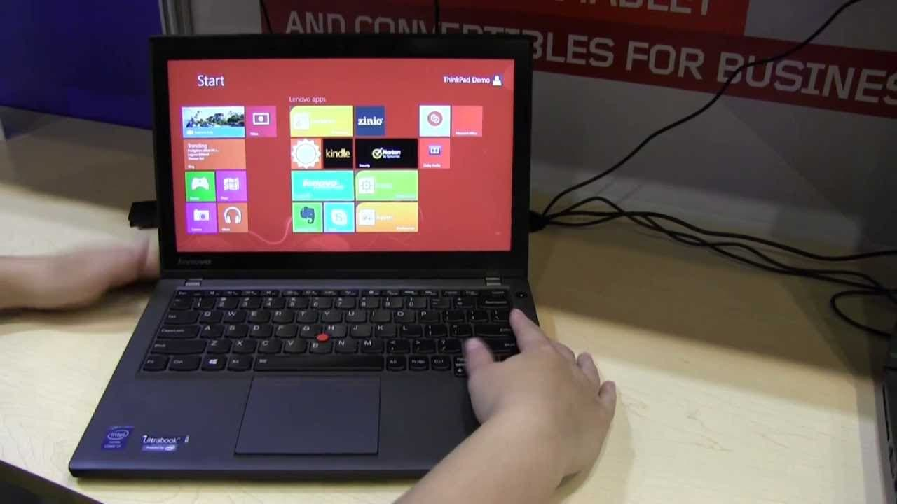 IDF: Lenovo ThinkPad X240 Ultrathin Hands-On