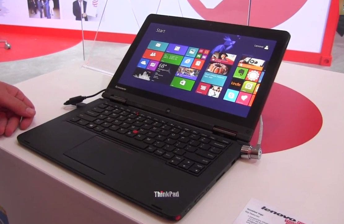 IFA: Lenovo ThinkPad Yoga im Hands-on-Video