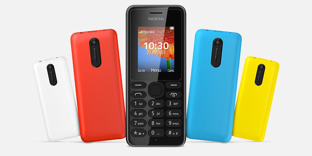 Nokia 108: Ultra-günstiges Mobiltelefon mit Kamera vorgestellt