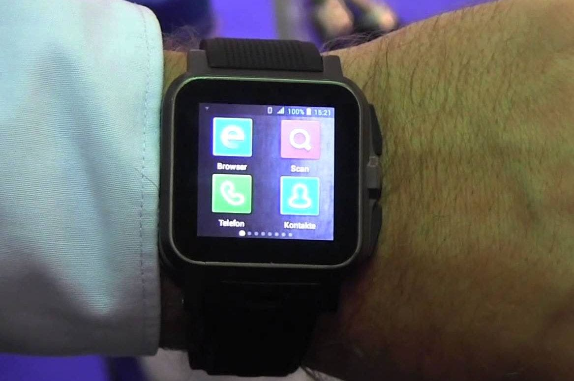 IFA: Pearl Simvalley AW-414.Go Smartwatch im Hands-on
