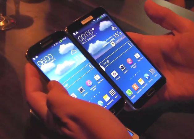 IFA: Samsung Galaxy Note 3 und Galaxy S4 im direkten Vergleich [Video]