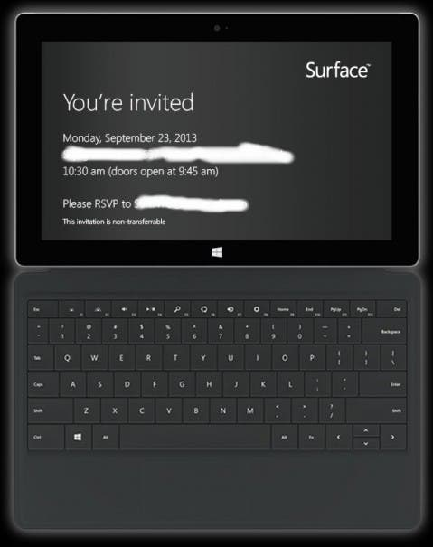 Surface 2 479x605 Montag, 23.9. ab 16:30 Uhr   Wir berichten live vom Microsoft Surface Event in New York