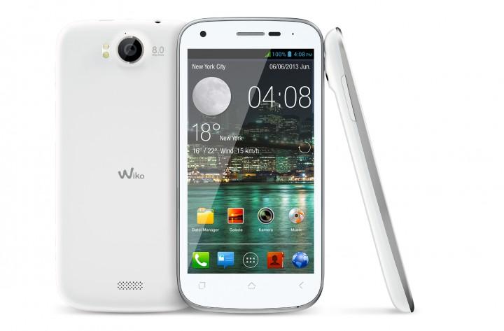 Neueinsteiger Wiko bringt Deutschlands günstigstes Quadcore-Smartphone & einen 5,7-Zoll-Riesen