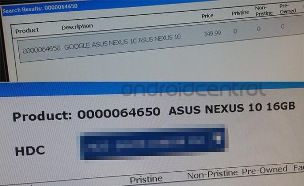 asus nexus 10 leak 600x367 News: Nexus 10 16 GB Speicher bestätigt, CyanogenMod Smartphone, Jolla Smartphone