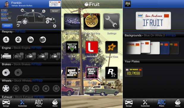 Apps fuer GTA 5 – Autos tunen fuer GTA 5 und GTA Online, sowie interaktive Karten
