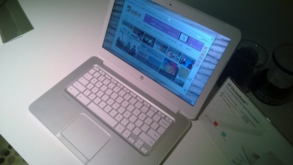 HP Chromebook 14 mit Intel Haswell-Prozessor im Hands-on [Video]