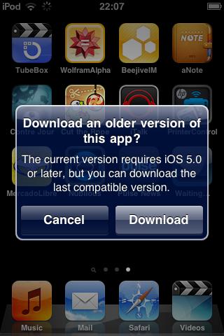 Apple: Apps auch für ältere iOS-Versionen