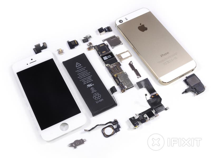 iphone 5s teardown 07 Zerlegt: Das Apple iPhone 5S im Teardown