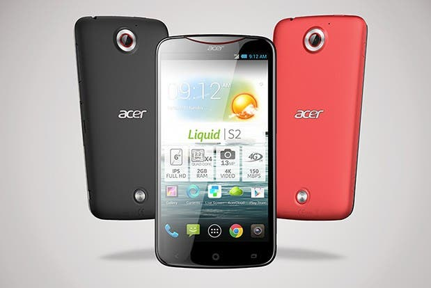 Acer Liquid S2: 6-inch Smartphone mit 4K Video im Hands-on *Update: Deutsches Video*