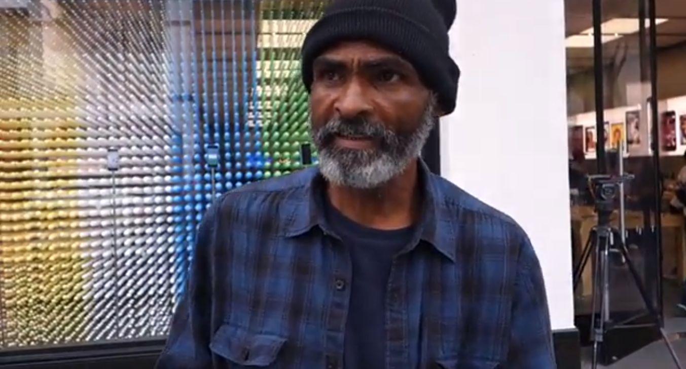 Tumulte vor Apple Store: Obdachlose zum iPhone-Kaufen angeheuert
