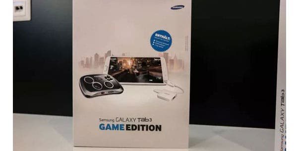 Samsung Galaxy Tab 3 Game Edition mit GamePad geplant