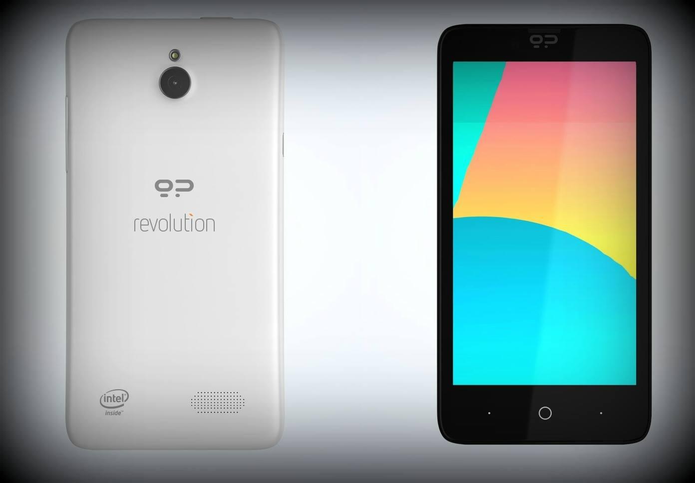 Erste Fotos zeigen Geeksphone Revolution Dual-OS Smartphone mit Android & Firefox OS