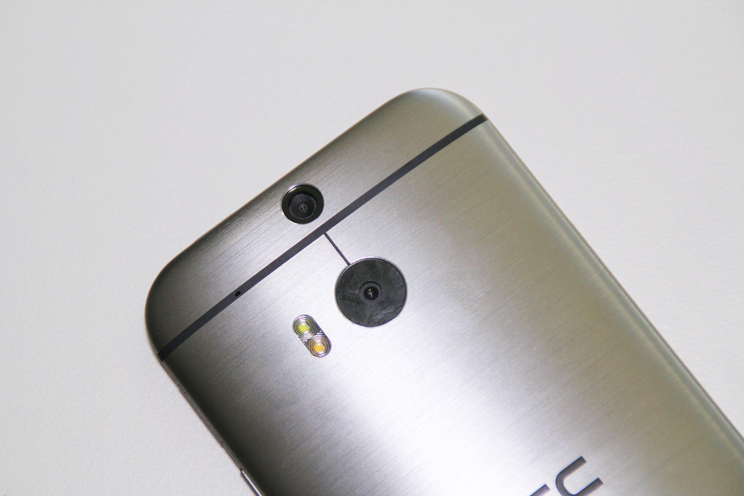 Die Kamera des HTC One M8