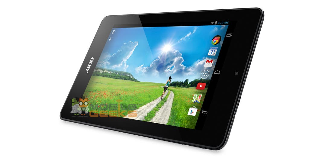 Acer Iconia One 7 B1-730 HD – So sieht das neue Einsteiger-Tablet mit Intel-CPU aus