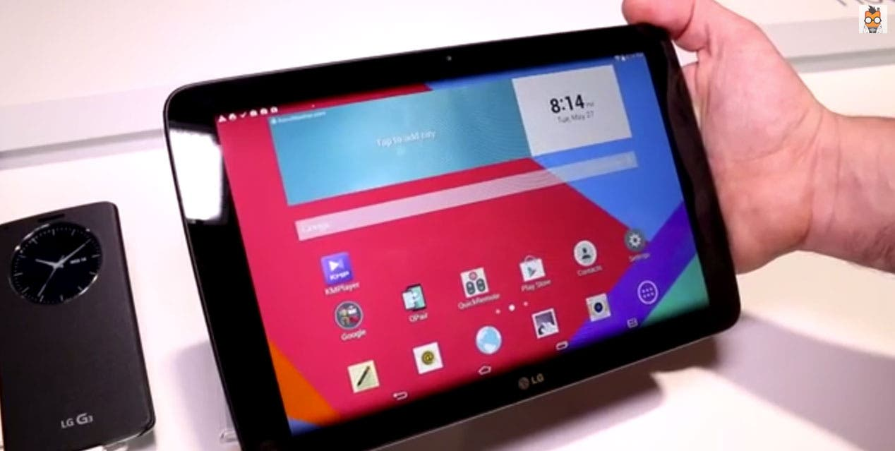 LG Electronics LG G Pad 10 1 to Roll Out Globally Throughout July