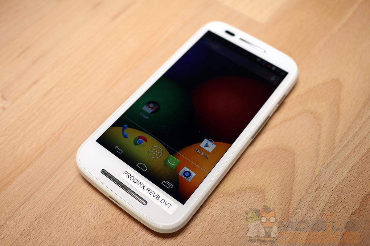 Motorola Moto E Hands On 009