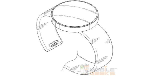 Samsung patentiert drei Designs für runde Smartwatches – mit Ladeanschluss im Armband