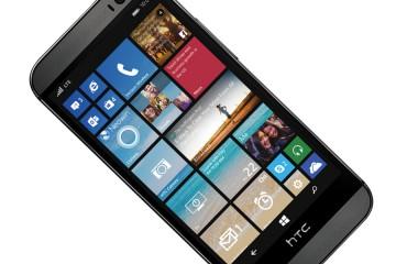 HTC One M8 mit Windows Phone von vorn